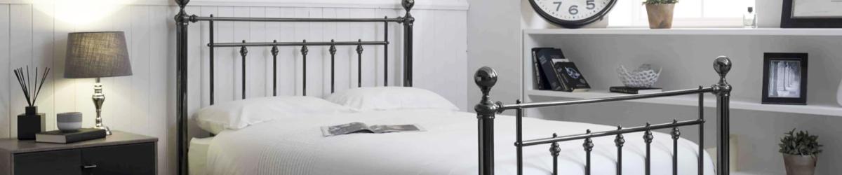 Double Metal Bedsteads